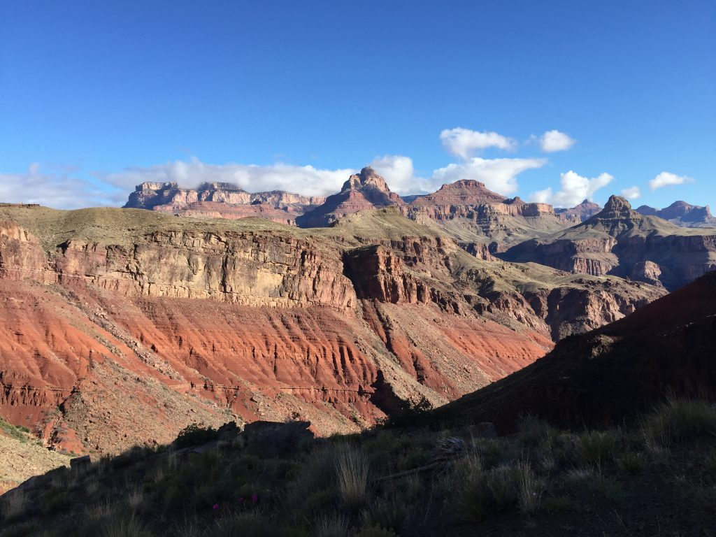 Looking back at the Red Canyon
